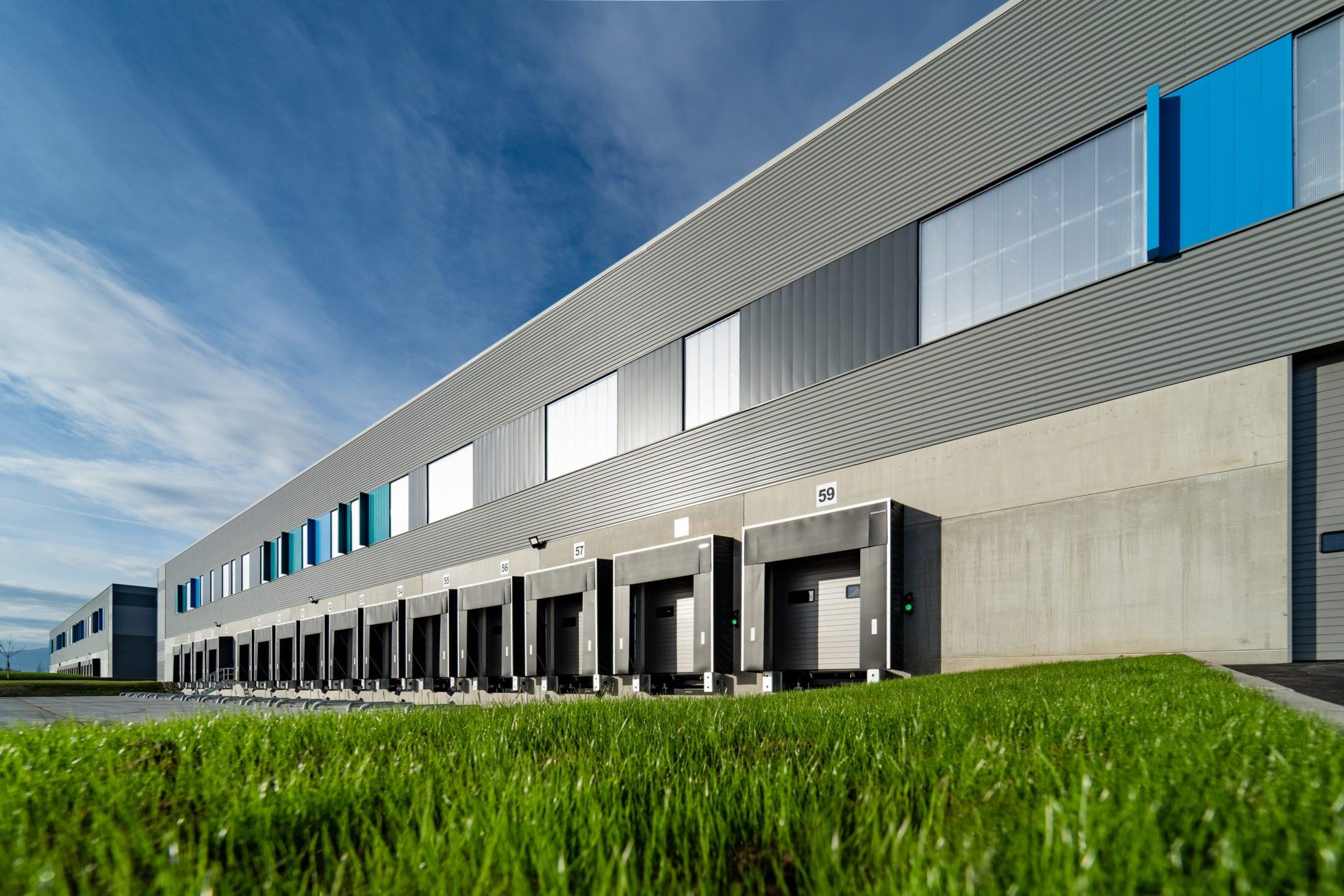 GSE übergibt eine 120.000 m² große Multi-User-Logistikplattform