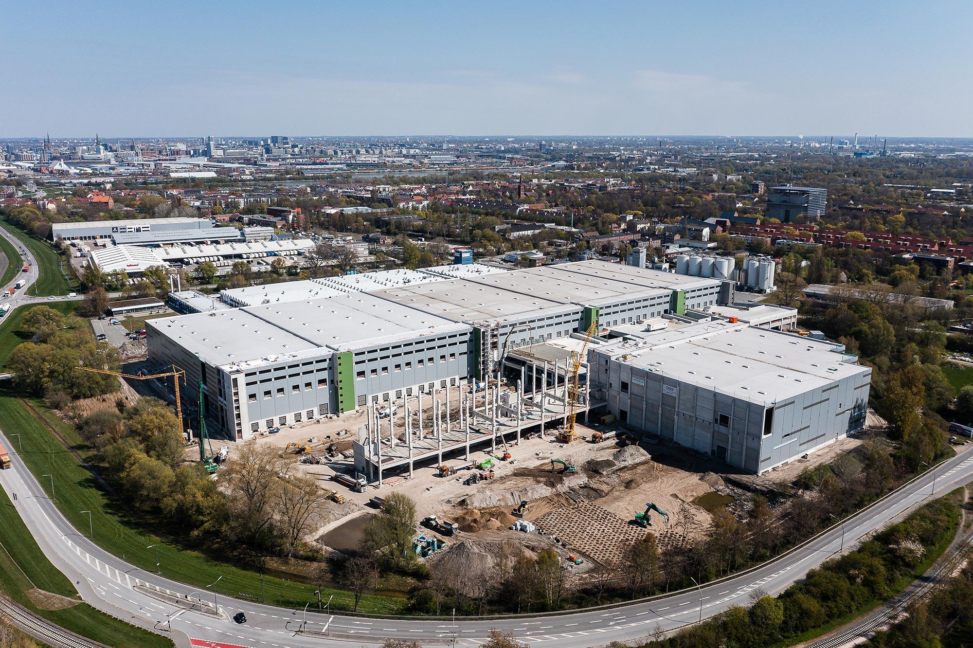 Logistikimmobilie neuer Dimension:  GSE realisiert Mach2 für Four Parx in Hamburg